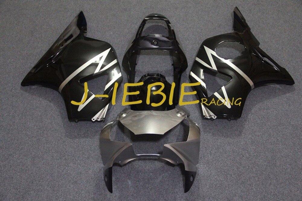 Black Silver Injection Fairing Body Work Frame Kit for Honda CBR954RR CBR 954 CBR954 RR 2002 2003