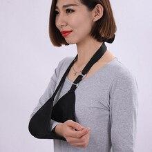 Поддержка руки плечевой ремень дышащий слинг поддержка локоть скобка запястья локоть перелом протектор вывих сломанной руки слинг