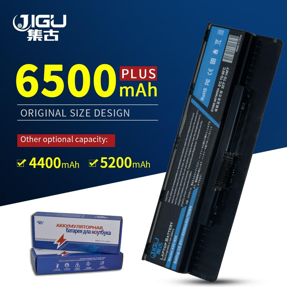 JIGU A31-N56 A32-N56 A33-N56 Laptop Battery For Asus N56 N56D N56D N56DY N56J N56JK N56JN N56JR N56V N56VB N56VJ N56VM N56VV