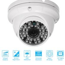 """KAMERA TELEWIZJI PRZEMYSŁOWEJ 1/3 """"kolor CMOS 1080 P wysokiej rozdzielczości 24 u nas państwo lampy Nightvison kamera wewnętrzna analogowy aparat bezpieczeństwa"""