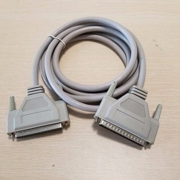 DB37 37Pin 3H2 macho a hembra Cable de cobre puro de extensión de datos blanco 3M