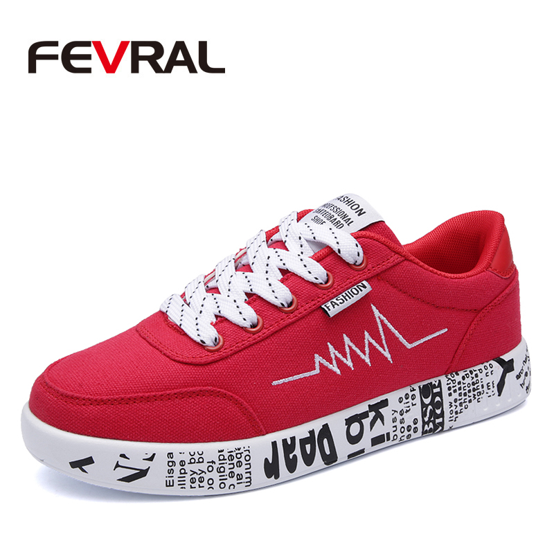 FEVRAL 2018 Fashion Women Vulcanized Shoes Sneakers Ladies Lace-up Casual Shoes Breathable Walking Canvas Shoes Graffiti Flat e lov women casual walking shoes graffiti aries horoscope canvas shoe low top flat oxford shoes for couples lovers