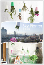 Free Shipping 48 Piece Sky Planter Upside-Down Plant Pot