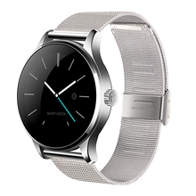 K88H Bluetooth Smart Watch 1.22 Inch IPS Screen MTK2502C Support Siri function Heart Rate Monitor SmartWatch For IOS Android