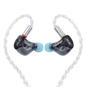 Image 2 - سماعة داخل الأذن من NICEHCK HK6/HK8 6/8BA مزودة بكابل صوت متوازن 6/8 قابلة للفصل سماعة رأس هاي فاي مخصصة