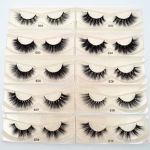 e4ec8fd4caf Visofree 3D Mink Lashes natural handmade volume soft eyelash extension  eyelash for