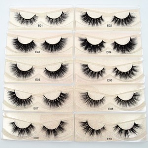Image 1 - Visofree Eyelashes 3D Mink Lashes natural handmade  volume soft lashes long eyelash  extension real mink eyelash for makeup E01