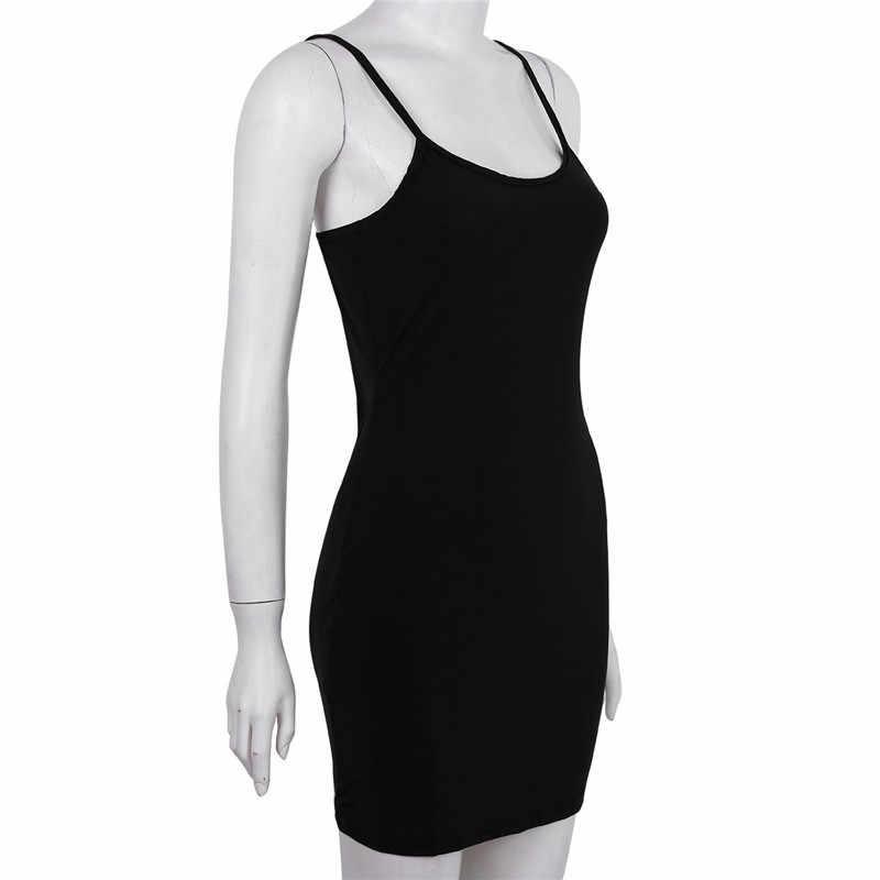 Женское прозрачное кружевное платье на бретельках с глубоким вырезом, однотонное платье-комбинация, пляжный сарафан, вечернее платье