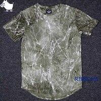Man Si Tun Mannen Hiphop T-shirt Oversized Mode Tie Dye T-shirt mannen Vintage Rock Tops Tees Zomer Streetwear Kpop T-Shirt