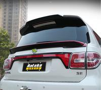 NEW ABS PAINT CAR REAR WING TRUNK LIP SPOILER FOR Nissan PATROL Y62 2012 2013 2014 2015 2016 2017 2018 BY EMS
