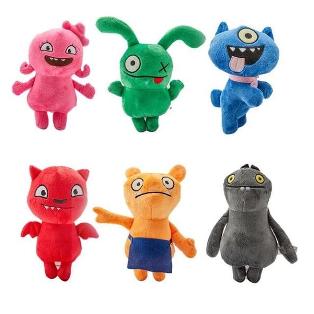 Новый фильм Uglydolls плюшевая игрушка по мотивам мультфильма аниме UglyDoll Ox Moxy Uglydog Babo Мягкая Плюшевая Кукла игрушки