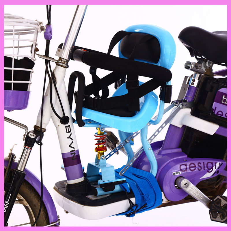 Baby Child Motorcycle Electric Bicycle Bike Safety Seat Front Chair Electric Battery Scooter Toddler Safety Seat