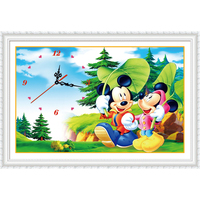 Diamond Embroidery Mickey Cartoon Diamond Painting Special Shaped Cross Stitch Happiness Blooms Home Decoration Christmas Gift