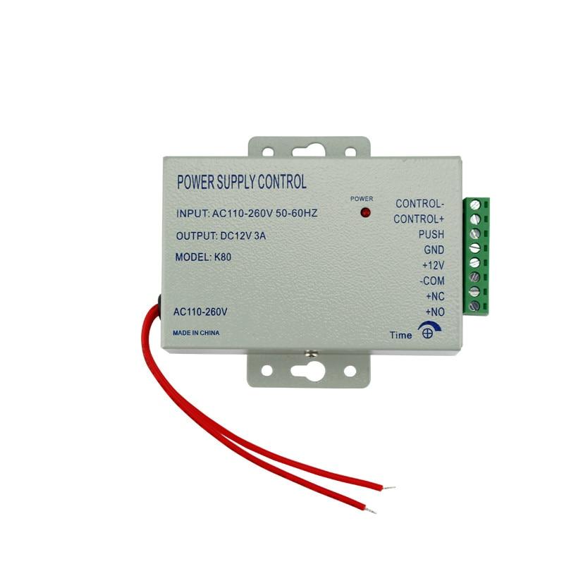 RFID Adgangskontrol Dørlåsesystem sæt med elektrisk skruelås RFID - Sikkerhed og beskyttelse - Foto 4