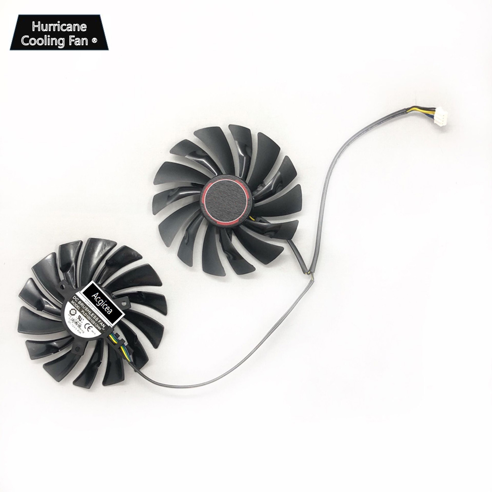 Image 3 - PLD10010S12HH 94mm 12V 0.4A 4Pin Video Card Cooling Fan for MSI GTX960 GTX950 R9 380 390 X 470 480 570 GTX 1060 1070 1080 GAMING-in Fans & Cooling from Computer & Office