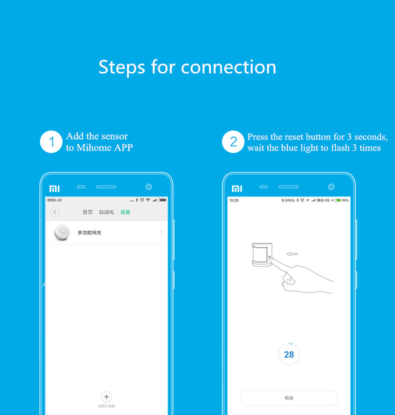 шлюз ZigBee и; датчик движения компании Xiaomi; датчик как Xiaomi;