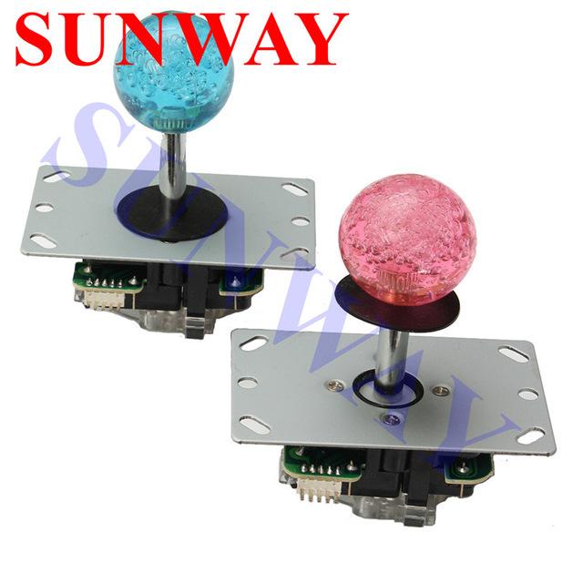 2PCS-Arcade-Joystick-controller-Game-machine-4-8way-sanwa-joystick-with-crystal-balltop-Copy-Sanwa-Joystick.jpg_640x640