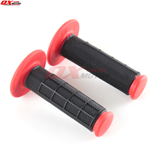 Motocross grips Hand Grips TPE rubber handle grips For CR CRF CR125 CR250 CRF250R CRF450R CRF450X Motocross Enduro Supermoto 270mm oversize front floating brake disc rotor cr125 cr250 crf enduro hm 230cc crf x r 250 450 motocross dirt bike supermoto
