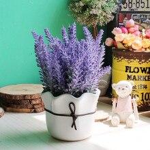 Christmas Decoration Simulation Small Potted Plant For Desktop Decor Ceramic Pots Green Plants Potted Bonsai Home Decorations