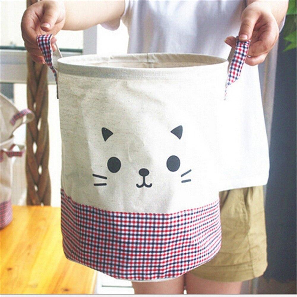 Compra tejido de lavandería cesto online al por mayor de ...
