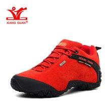 XIANGGUAN Woman Hiking Shoes font b Women b font Suede Athletic Trekking font b Boots b
