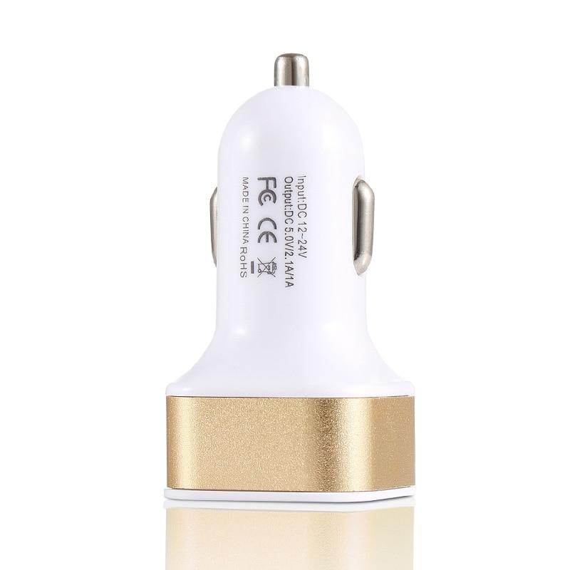 2.1A 1A կրկնակի ելքային USB մեքենայի - Բջջային հեռախոսի պարագաներ և պահեստամասեր - Լուսանկար 5