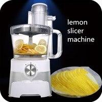 Kommerziellen zitrone schneidemaschine maschine  elektrische orange hobel  automatische obst schneidemaschine  professionelle frucht-schneidmaschine maschine