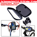 waterproof case bike phone bag pouch for bicycle cycle handlebar mount holder for Samsung Galaxy Note 2 3 4 5 / S5 S6 S7 edge