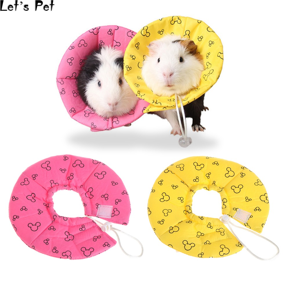 Lets Pet Pet Neck Collar Anti Bite Protector Safety Funnel Cover For Healing Hamster Mini