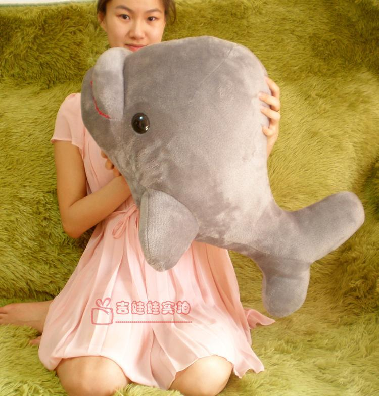 lovely plush dolphin toy big head whale toy gay stuffed doll gift about 72cm big plush whale toy big head white foam dolphin doll pillow gift about 70cm