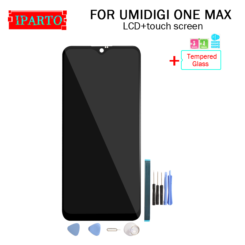 6 3 inch UMIDIGI ONE MAX LCD Display Touch Screen Digitizer Assembly 100 Original New LCD