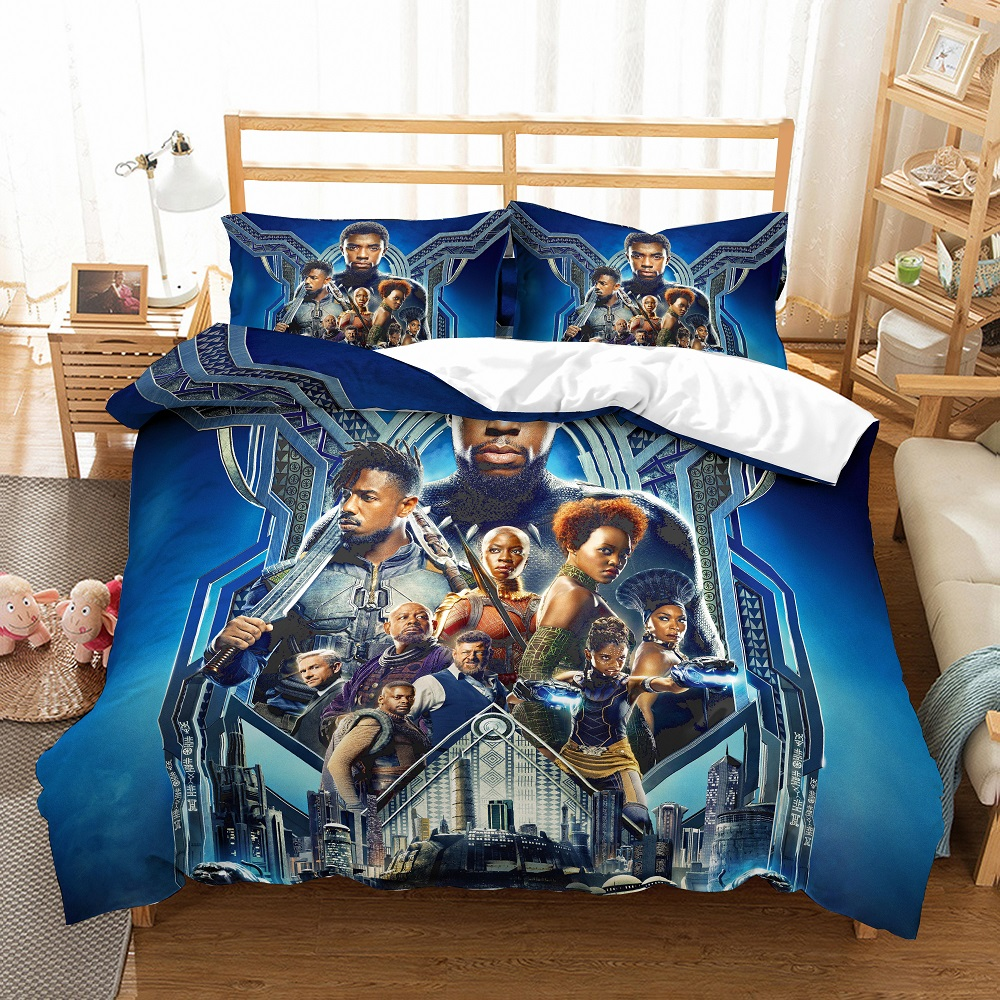 DOUBLE /& KING ANIMAL BEDDING BLACK HORSE DUVET COVER SETS AVAILABLE IN SINGLE