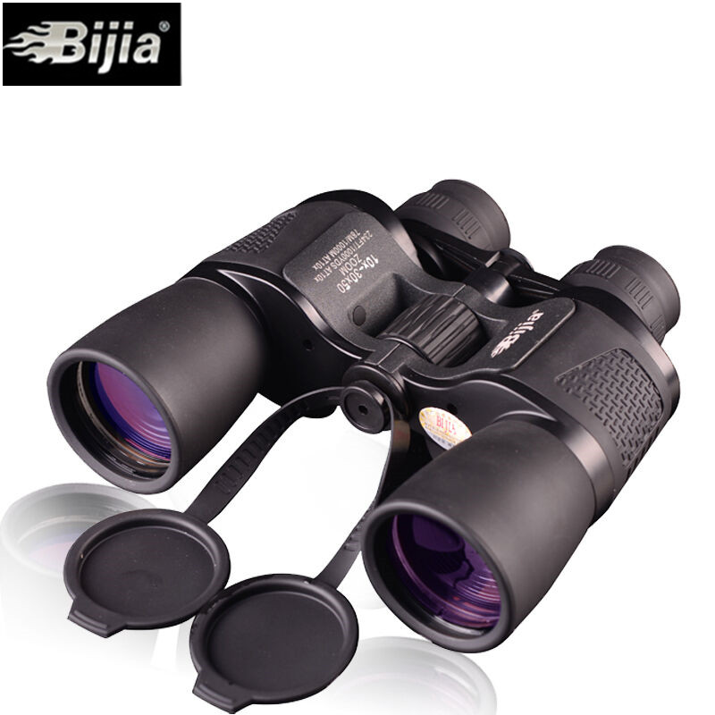 Bijia 10 30x50 Binoculars HD High Power Waterproof Zoom Binoculo Telescope for Hunting Tourism Opera glasses