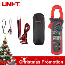 Cheap price UNI-T UT204A 400-600A Handheld Clamp Meters UT 204A AC DC Temperature Capacitor 600A Current Diode Auto Range Multimeter