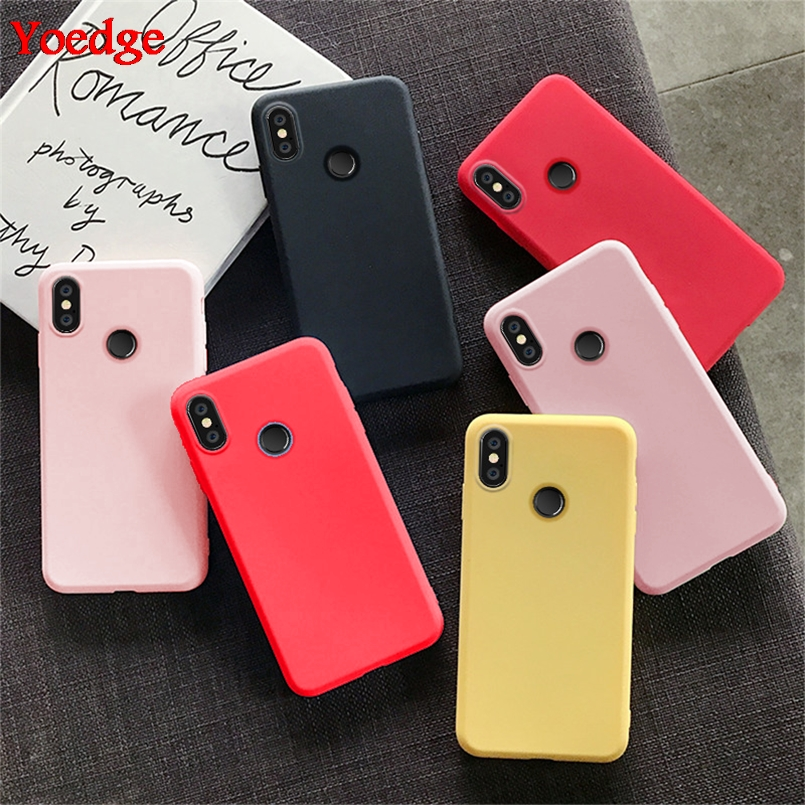 Color-Case Cover Note-7 Xiaomi Mi Redmi 8-Lite-9 Luxury 5-Plus for A1 5X A2 Fundas TPU