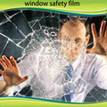 4 mil window safety foil that prevents breaking glass 5ft x 100ft