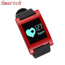 Smartch DM68 Смарт браслет шагомер расстояние анализа фитнес трекер сердечного ритма трекер крови Давление для iphone Androi