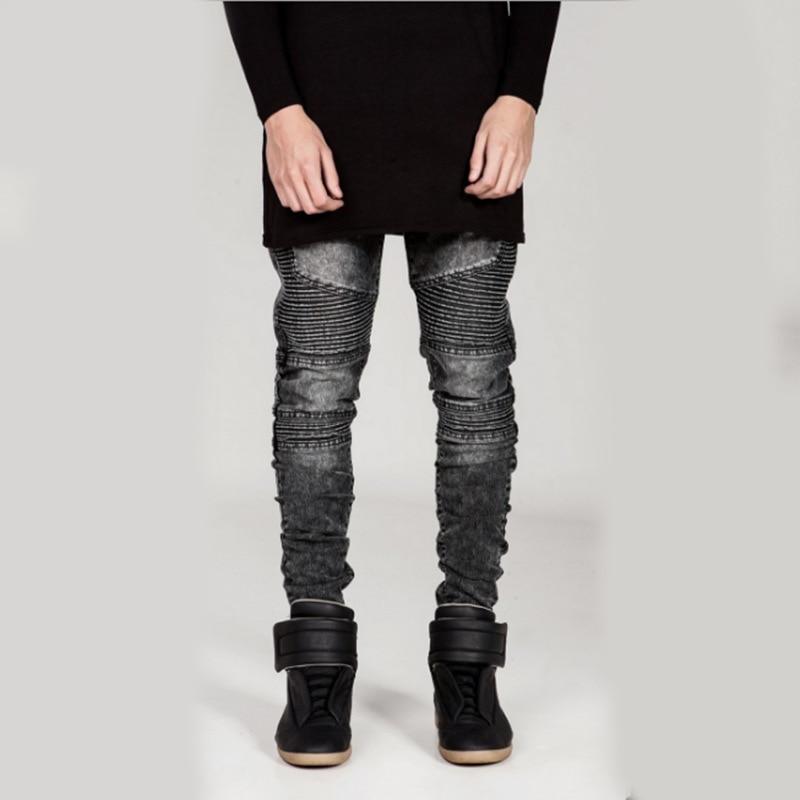 ФОТО Selling New Mens Top seller Camouflage Jeans Men Famous Designer Slim Washed Jeans Homme Skinny Jeans Men Size 29-38