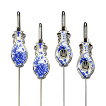 ShaoFu Blue And White Porcelain Bookmarks Metal School Office Supplies Chinese Traditional Gifts Stationery Handicrafts Decor цена