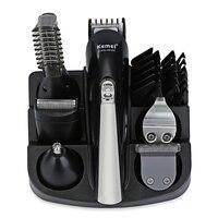 Kemei KM600 Professional Hair Trimmer 6 In 1 Clipper Shaver Sets Electric Beard Cutting Machine