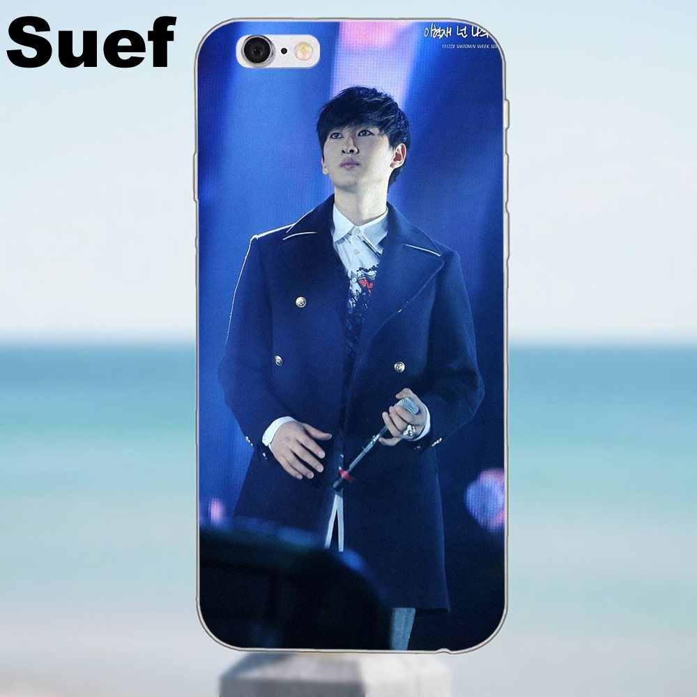 Super Junior Donghae ryeowook ТПУ Модный Оригинальный для Iphone 4 4s 5 5S 5C SE 6 6 S 7 8 Plus iPhone X Galaxy J1 J3 J5 J7 A3 A5 2016 2017