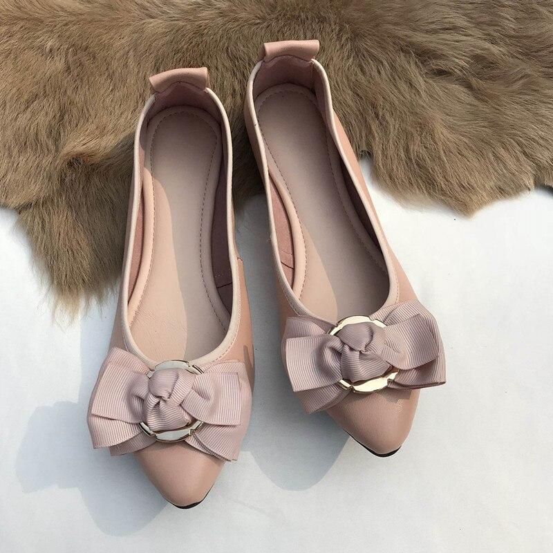 Black pink Occasionnels Appartements Cuir blue 34 Femmes En Pgxxzlx 41 Gray Véritable Ballerine Top silver Roll Up Chaude Chaussures Vente Qualité Ballet 1AgxnqT