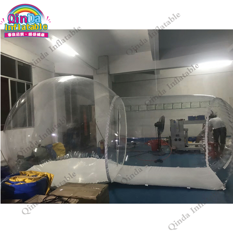 Outdoor camping transparent inflatable bubble tent pvc inflatable dome tent clear tent inflatable футболка классическая printio never give up никогда не сдаваться