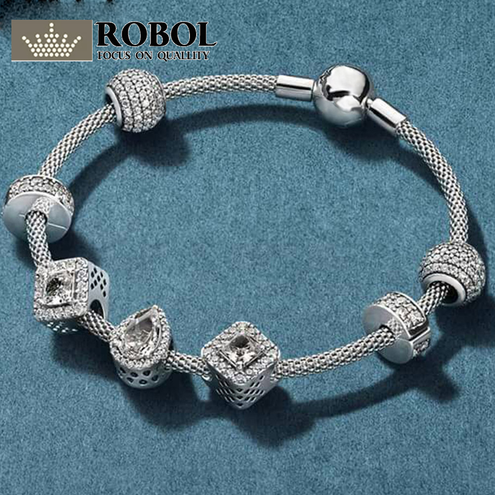 New Arrival 100% 925 Sterling Silver Bracelet For Women With Heart Safety Chain ,Ice Charms Beads Fashion Jewelry Original GiftNew Arrival 100% 925 Sterling Silver Bracelet For Women With Heart Safety Chain ,Ice Charms Beads Fashion Jewelry Original Gift