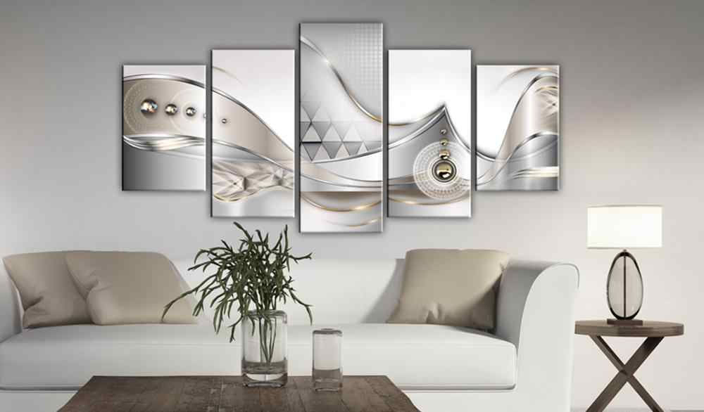 5 Pieces Printed Abstract series Canvas Oil Painting Decoration Wall Picture In Living Room Modern Canvas Art PJMT-B-285
