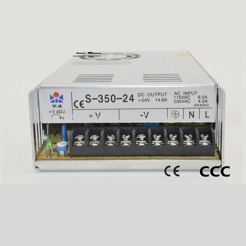 ac to dc 110V 220V 48V 7.3A 350W S-350-48 SingIe Output Uninterrupted Strip Iight Ied driver source swtching pwer supIy voI ac to dc direct quaiity watts 480w 48v 10a dr 480 48 draii singie output ce ied driver source swtching pwer supiy voit