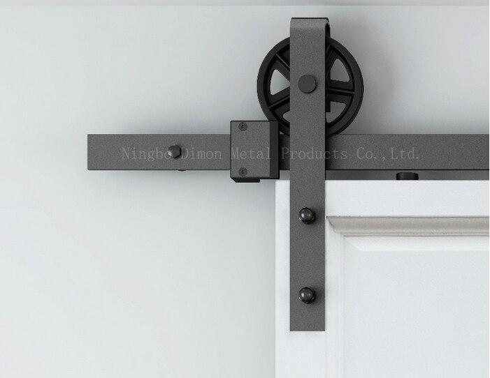 Dimon personalizado deslizante hardware porta de correr hardware porta com amortecedor kits América estilo DM-SDU 7210 com fechamento suave