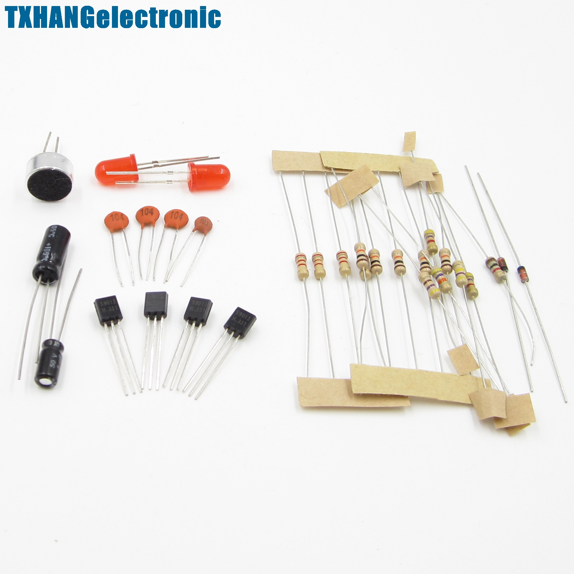 Icsk050a Stable Diy Kit Clap Switch Suite Sound Sensor Circuit Double Homemade Electronic Production In Integrated Circuits From Components Supplies On