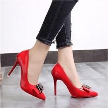 Primavera y otoño de las mujeres bombas zapatos de tacón alto zapatos de mujer  tacón punta mujer Sexy zapatos de fiesta Oficina . a2f9d575bfd3