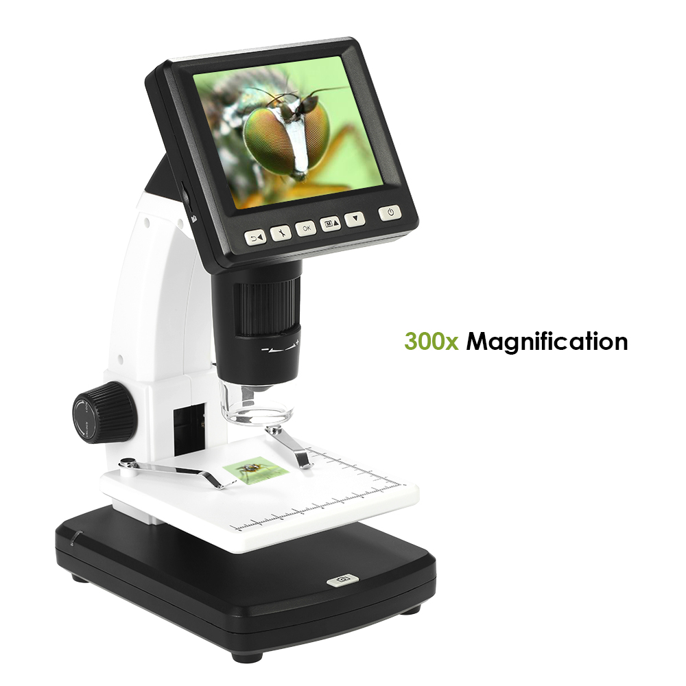 3 5 Digital endoscope Stand Alone Desktop Microscope 10 300X up 1200x Magnification 5M Resolution and